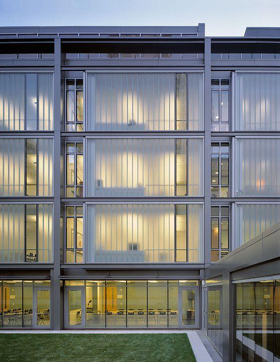 glass façade implementation