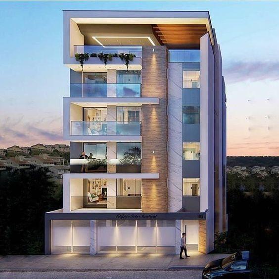 facade design and building