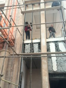 curtain wall implementation in Iran