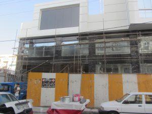 Frame Less façade