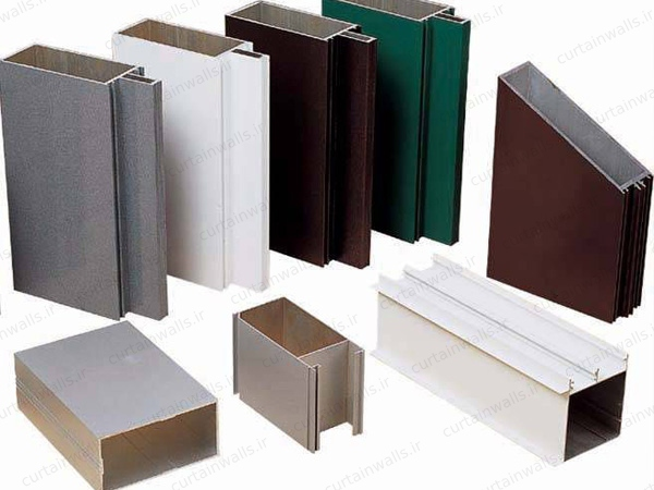 Curtain Wall profiles types