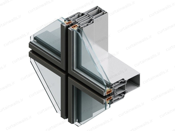 curtain wall profile structure