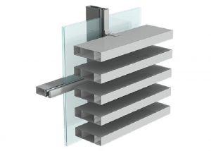 Aluminum Louver model