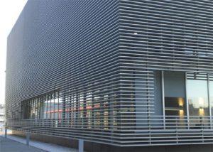 Aluminum Louver facade