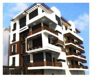 wood compilation façade