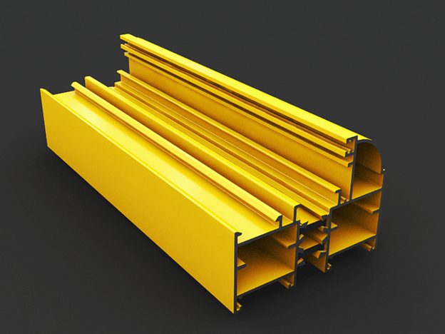 profile of Frameless thermal break curtain wall