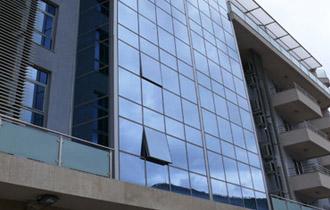 execution of Curtain Wall façade