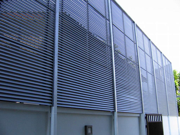 price of the aluminum louver