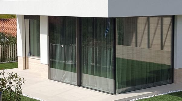 frameless facade