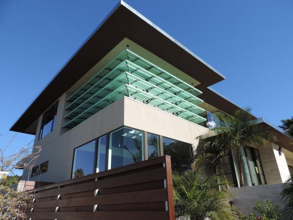 modern façade