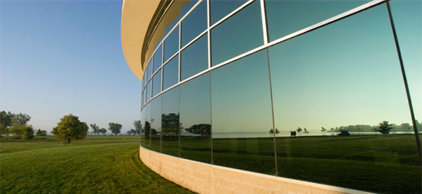 curved glass Curtain Wall