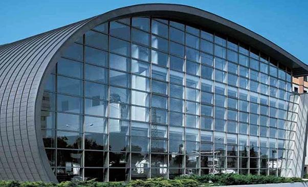 glass Curtain Wall façade