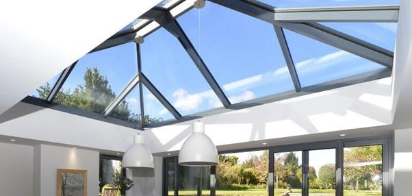 skylight glass roof
