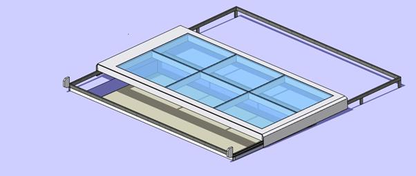 model of sliding roof