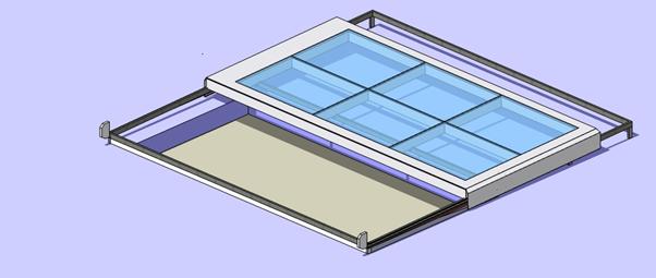 sliding roof model