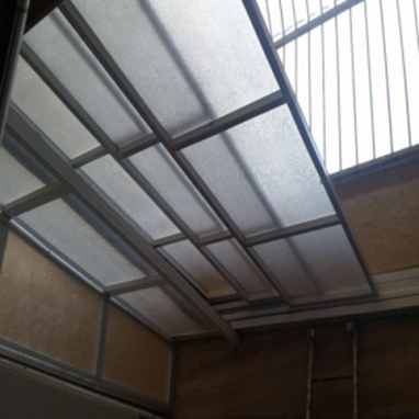 Application of sliding roof