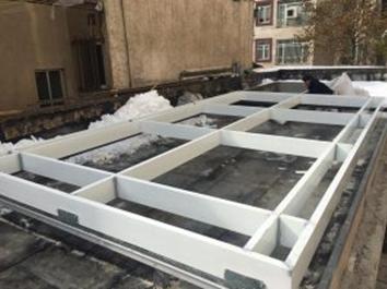 sliding roof implementation