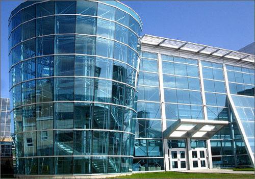 glass façade