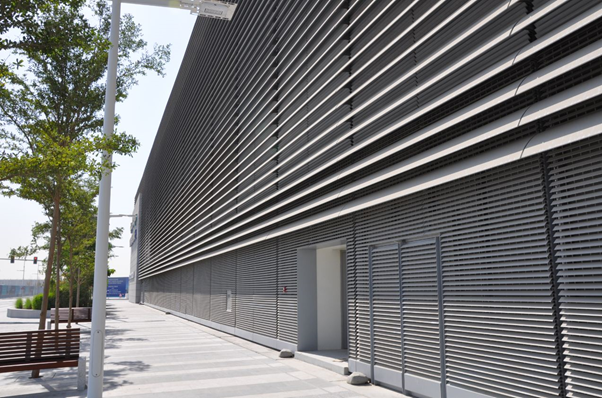 Louver sales center