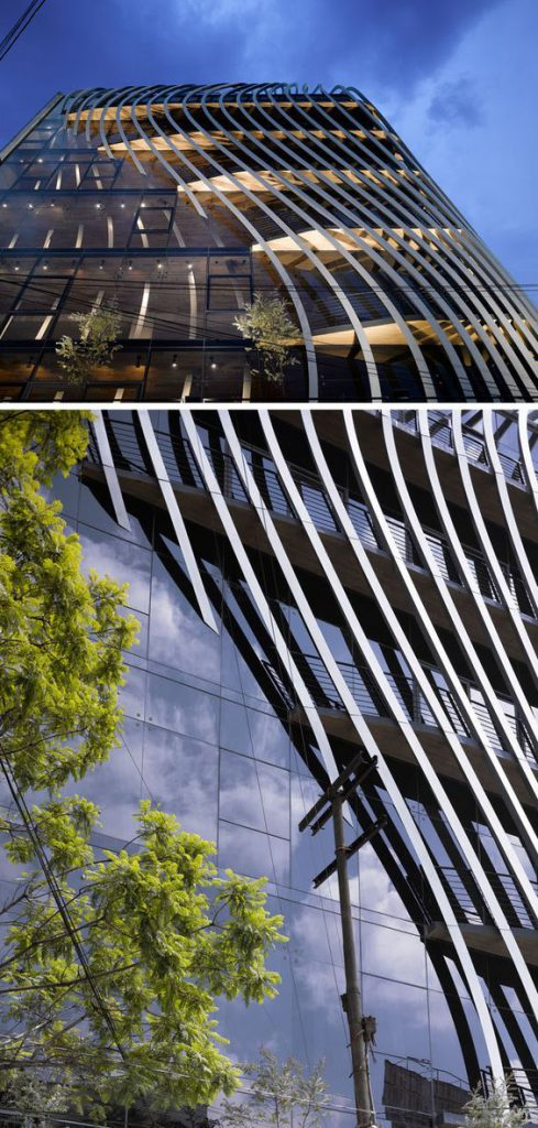 Versorgungszentrum für Glasfassaden